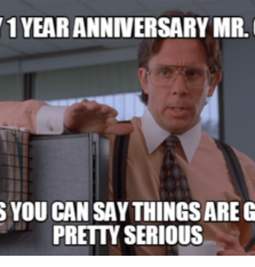 Best memes about happy year work anniversary
