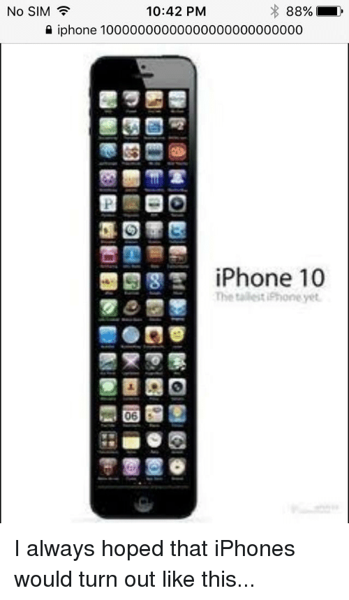 Funny Iphone And Sim 1042 PM No SIM 10000000000000000000000000 IPhone