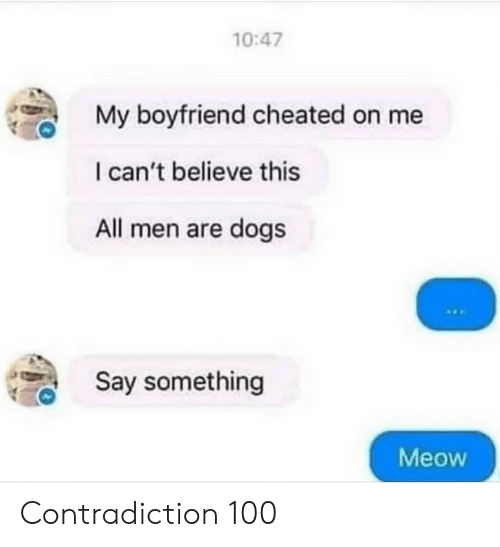1047 My Boyfriend Cheated on Me I Can't Believe This All Men