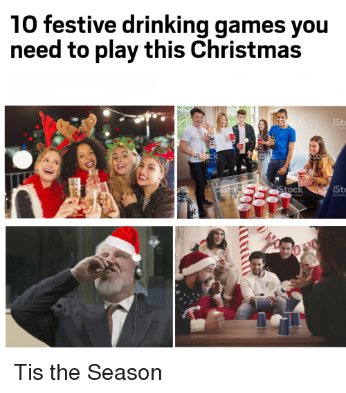 10 festive drinking games you need to play this christmas ist by