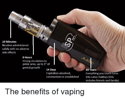 10 Minutes Nicotine Administered Safely With No Adverse Side