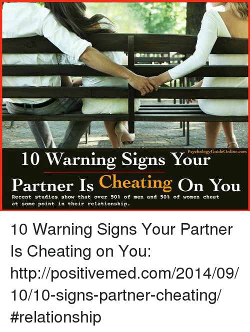 10 sign your partner cheating on you