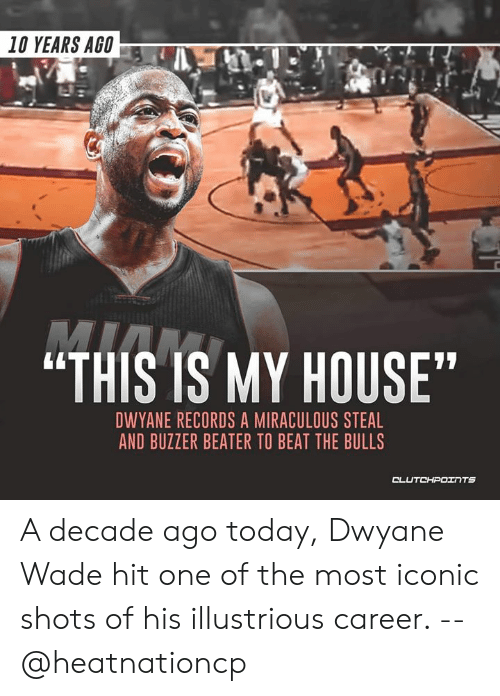 10 YEARS AGO THIS IS MY HOUSE DWYANE RECORDS a MIRACULOUS STEAL AND