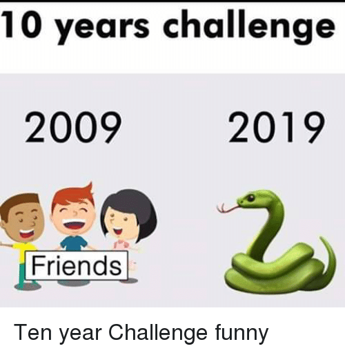 20 most awkward and hilarious 10 years challenge memes of. Black Bedroom Furniture Sets. Home Design Ideas