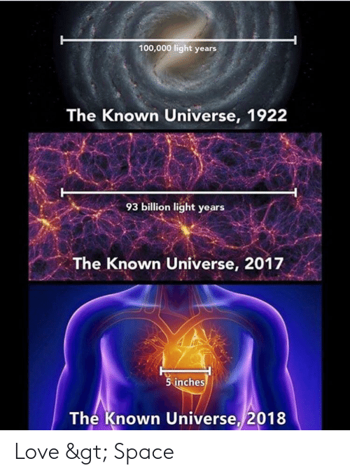 Light years to inches