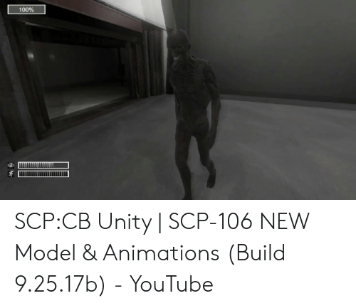 100% SCPCB Unity   SCP-106 NEW Model & Animations Build