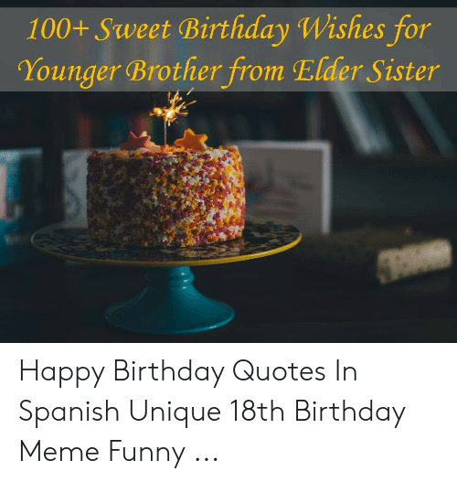 100+ Sweet Birthday Wishes for Younger Brother From Elder