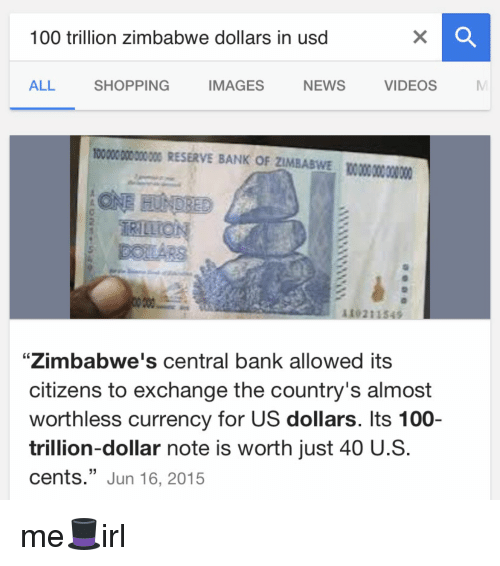 Bank Banks And Image 100 Trillion Zimbabwe Dollars In Usd All Ping Videos