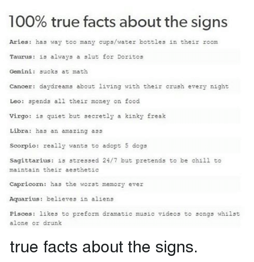true things about taurus