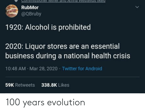 Evolution,  Years, and 100: 100 years evolution