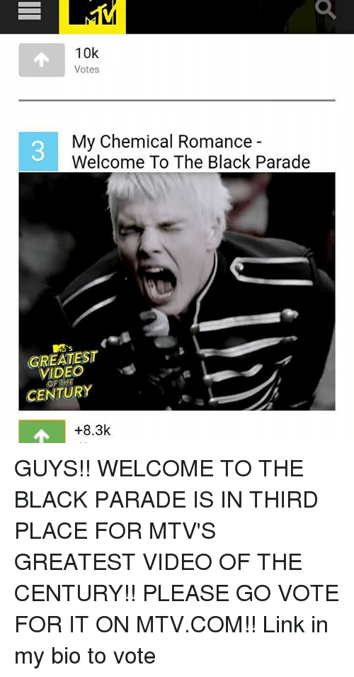25 Best My Chemical Romance Welcome To The Black Parade Memes