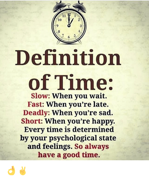 Image result for time fast slow