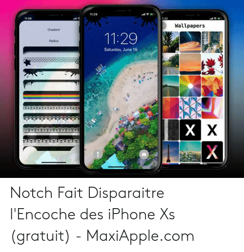 11 29 Wallpapers Gradient 1129 Radius Saturday June 16 Notch