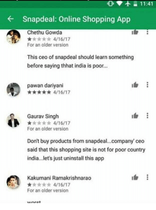 f4ca7007364 1141 Snapdeal Online Shopping App Chethu Gowda for an Older Version ...