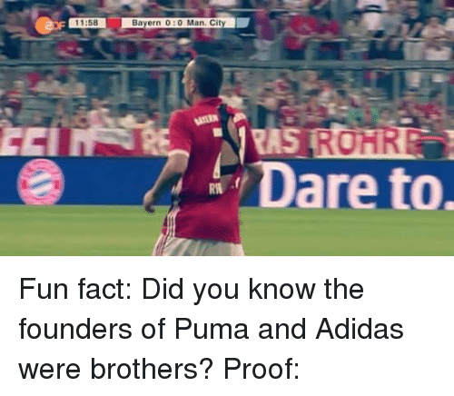 9c5620a3f112b8 1158 Bayern 00 ManCity Dare to Fun Fact Did You Know the Founders of ...