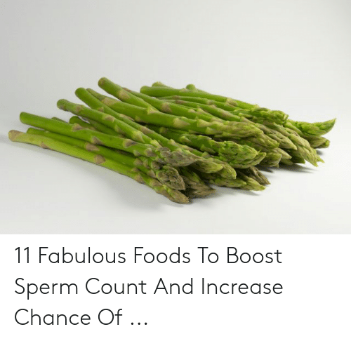11 Fabulous Foods to Boost Sperm Count and Increase Chance