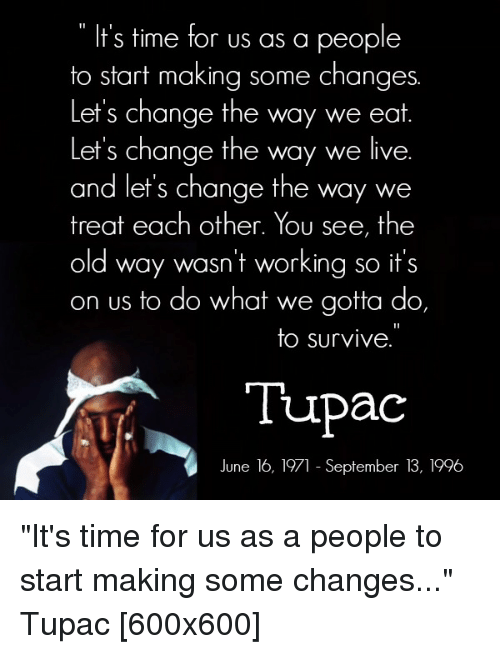what is the song changes by tupac about