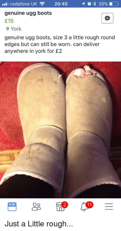 38e04336377 11 Vodafone UK 2045 Genuine Ugg Boots E15 9 York Genuine Ugg Boots ...