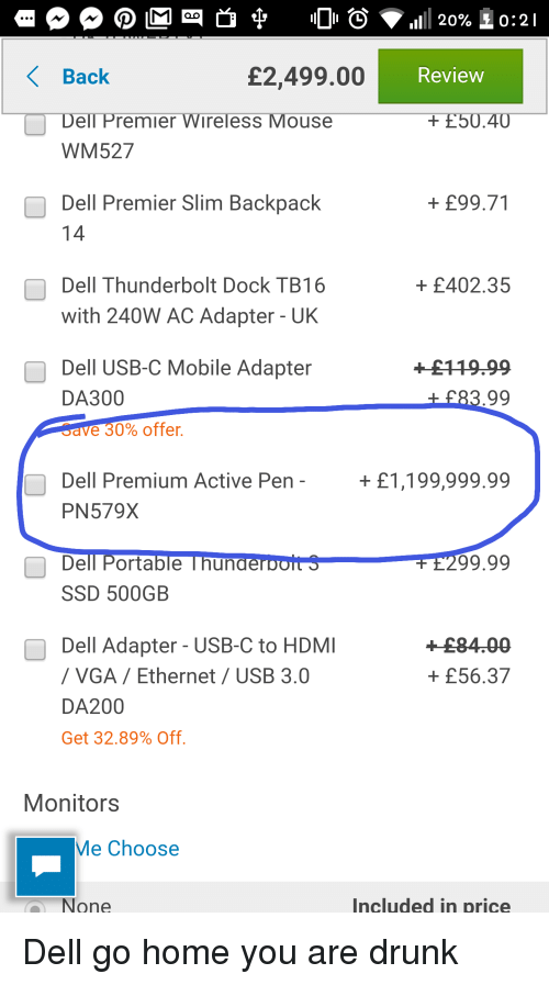 1111 20% 0 2 1 Review Back Dell Premier Wireless Mouse WM527 £249900