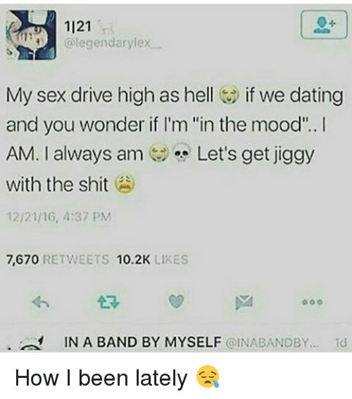High sex drive dating site