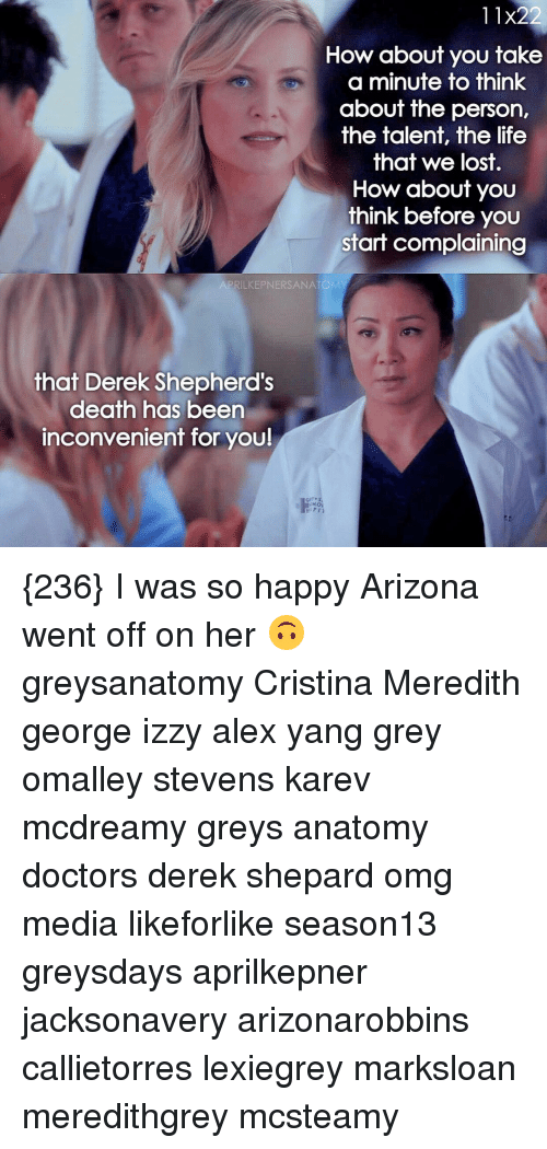 11x22 How About You Take a Minute to Think About the Person the ...