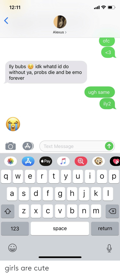 Ugh text a what mean does message in Ugh