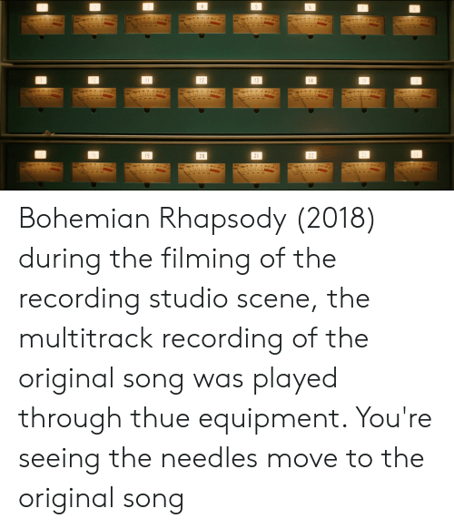 12 13 20 21 19 Bohemian Rhapsody 2018 During the Filming of the