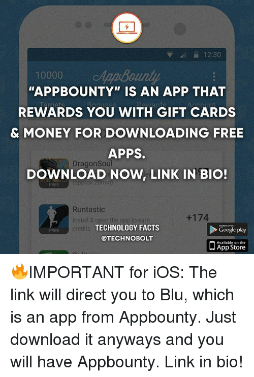 1230 10000 APPBOUNTY IS AN APP THAT REWARDS YOU WITH GIFT