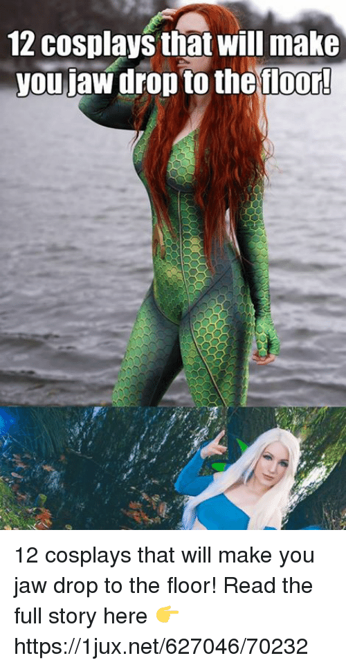 German (Language), Net, and Will: 12 cosplays that will make  you jaw drop to the tloor! 12 cosplays that will make you jaw drop to the floor! Read the full story here 👉 https://1jux.net/627046/70232