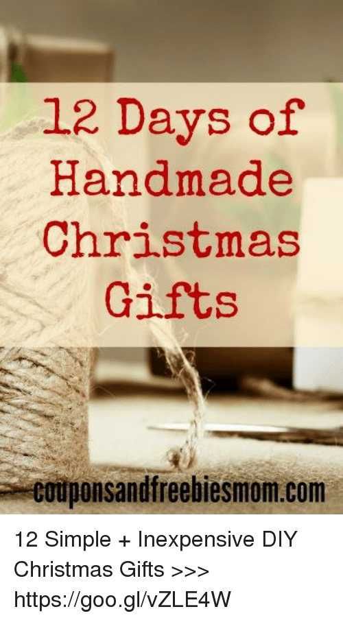 dank and goo 12 days of handmade christmas gifts couponsandfreebiesmomcom