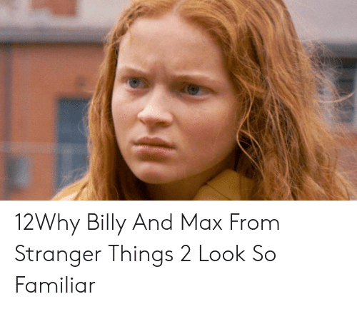 12Why Billy and Max From Stranger Things 2 Look So Familiar