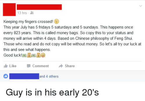 What happens every 823 years