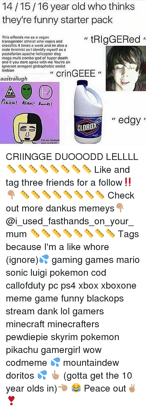141516 Year Old Who Thinks Theyre Funny Starter Pack Triggered This