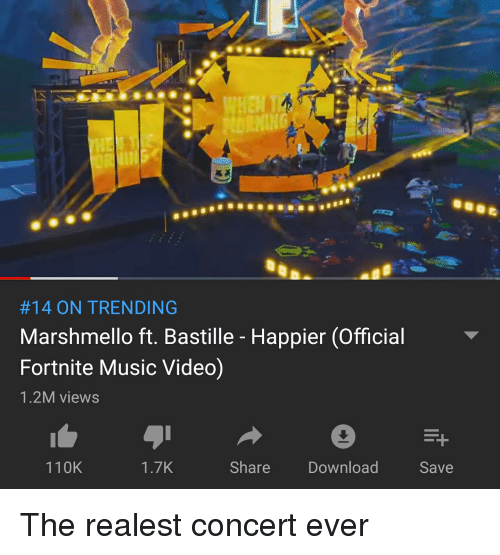 14 ON TRENDING Marshmello Ft Bastille - Happier Official
