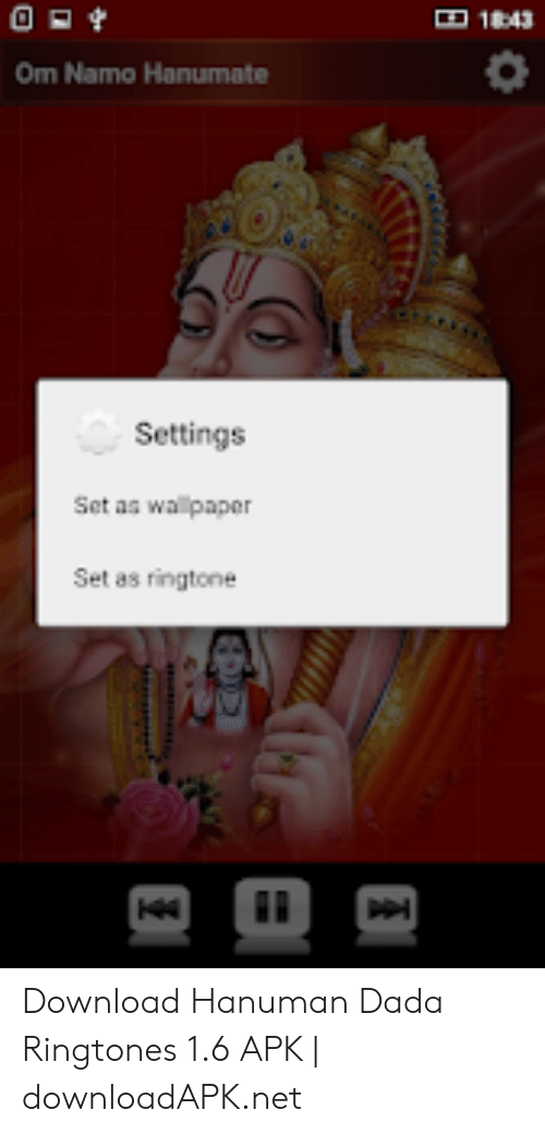 143 Om Namo Hanumate Settings Set As Wallpaper Set As