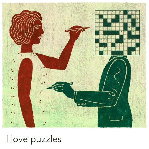 Love, Im 14 & This Is Deep, and Puzzles: 15  16  19  23  24 25  28  26  31  29  30  32  35  36  33  34  35  38  40  42  10  11  12  6  13  14  4 e  15  2  16  1  17 I love puzzles