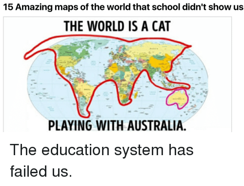 Amazing Maps Of The World That School Didnt Show Us THE WORLD - Funny maps of the us