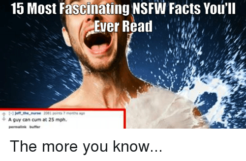 Funny Meme Nsfw : Most fascinating nsfw facts you ll ever read t jeff thenurse
