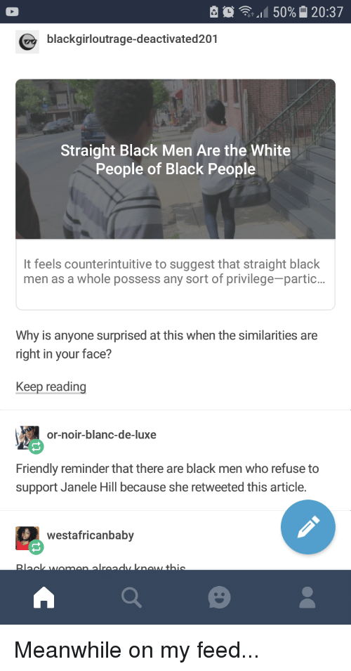 Straight Black Men Tumblr