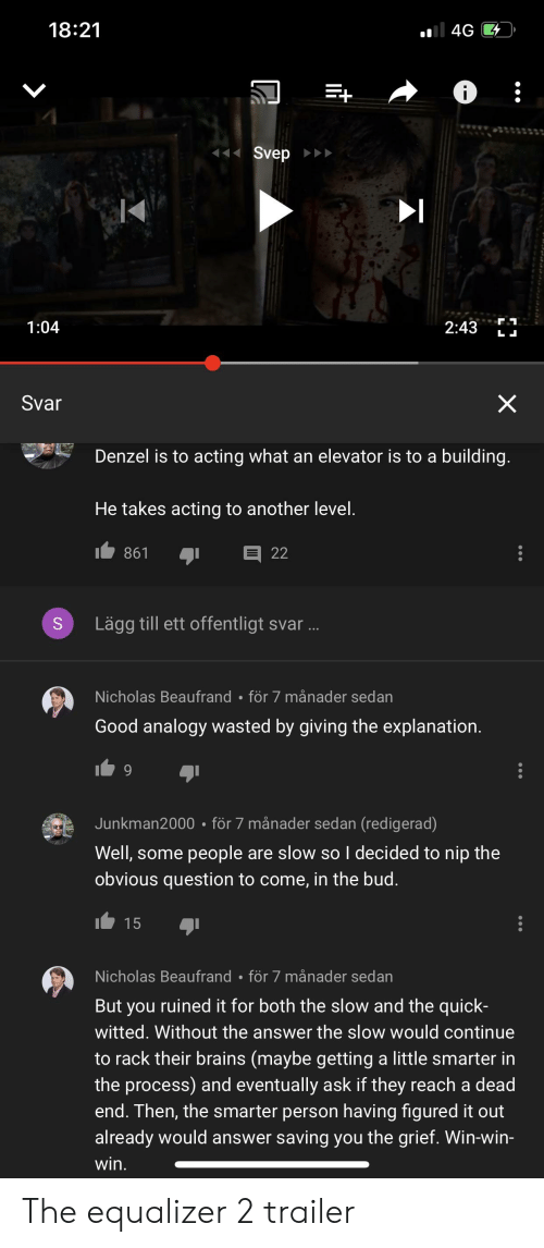 1821 104 2437 Svar Denzel Is to Acting What an Elevator Is