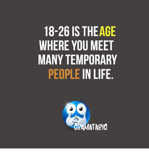 Meet people your age