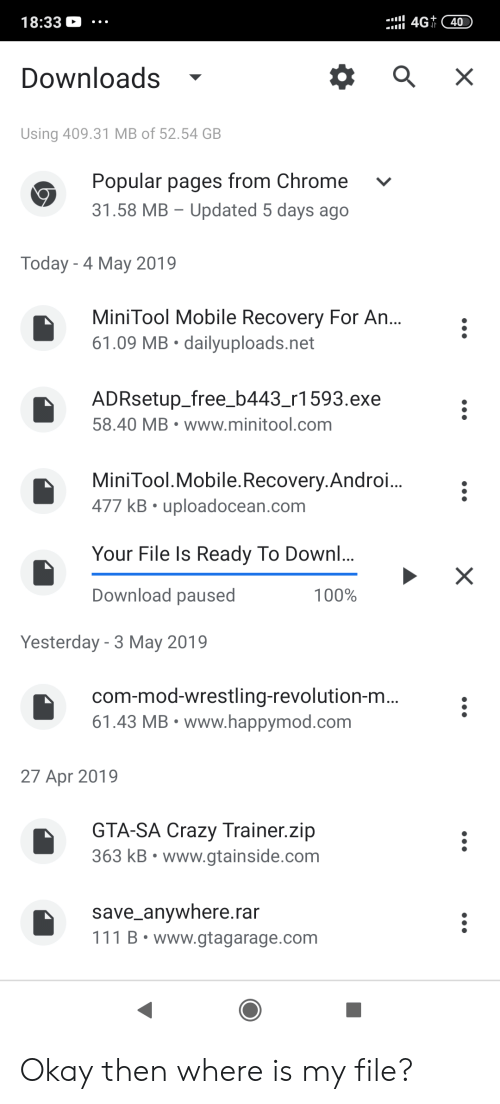 1833 Downloads - Using 40931 MB of 5254 GB Popular Pages