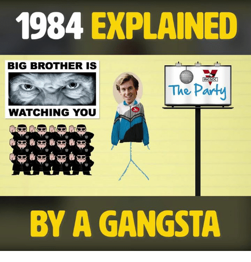 1984 big brother is watching you Australia will get a taste of the dystopian world of george orwell's futuristic novel 1984 in a stage adaptation touring the country next year the west end adaptation will play seasons in .