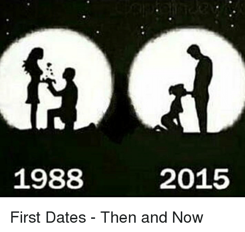 Differences in dating then and now