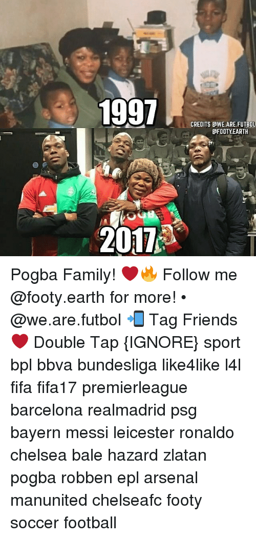 Arsenal, Barcelona, and Chelsea: 1997  2011  CREDITS GWE ARE FUTBOL  GFOOTY EARTH Pogba Family! ❤️🔥 Follow me @footy.earth for more! • @we.are.futbol 📲 Tag Friends ❤️ Double Tap {IGNORE} sport bpl bbva bundesliga like4like l4l fifa fifa17 premierleague barcelona realmadrid psg bayern messi leicester ronaldo chelsea bale hazard zlatan pogba robben epl arsenal manunited chelseafc footy soccer football
