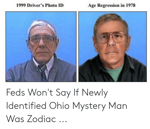 1999 Driver's Photo ID Age Regression in 1978 Feds Won't Say