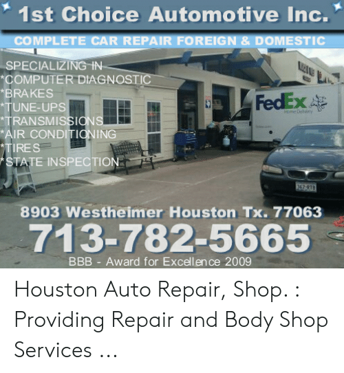 1St Choice Auto >> 1st Choice Automotive Inc Complete Car Repair Foreign