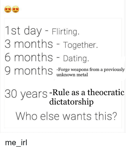 3 year rule dating california