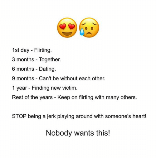 dating someone for 3 months