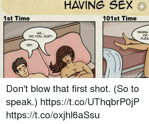 What happens when you first have sex
